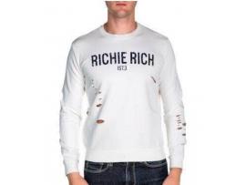 """""""Richie Rich"""" Yırtık Sweatshirt"""