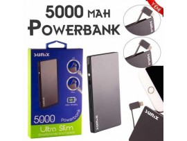 5000 MAH Powerbank Samsung ve Iphone girişli
