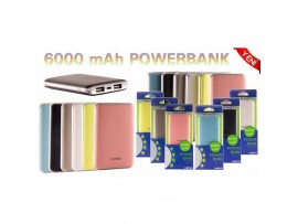 6000 MAH POWER BANK Samsung ve Iphone için