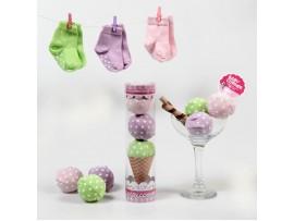 Baby Corner / Dondurmam Çorap - pembe