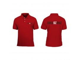 """Bayan için """"Engelsizsiniz"""" Polo Tişört """"Kırmızı"""""""