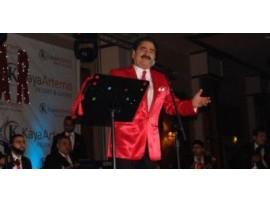 İbrahim Tatlıses'in özel dikim Sahne Kostümü / Ceket + Kravat